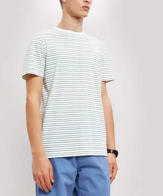 Albam Nara Thin Stripe Cotton T-Shirt