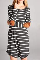 OVI Grey Striped Dress