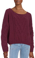 Free People Knit Off-the-Shoulder Sweater