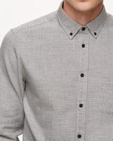 Italian Mouliné Houndstooth Shirt