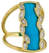 Jude Frances 18K Sonoma Turquoise & Diamond Ring