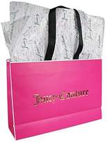 Juicy Couture Tissue Paper and Pink Gift Bag With 'Juicy Couture' Imprint.