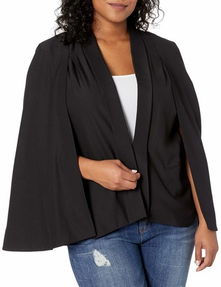 Rachel Roy Women's Plus Size Tuxedo Cape