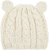 Monsoon Baby Cable Bear Beanie Hat