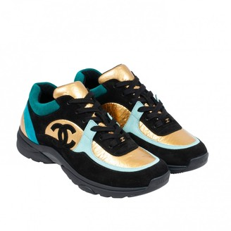 Chanel Multicolour Leather Trainers