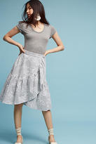 Eva Franco Hibiscus Skirt