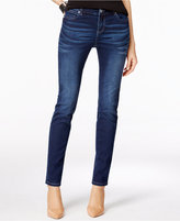 INC International Concepts Petite Rose Wash Skinny Jeans, Only at Macy's