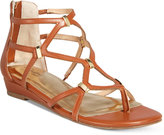 Thalia Sodi Pamella Strappy Demi Wedge Sandals, Only at Macy's