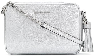 MICHAEL Michael Kors Ginny metallic cross-body bag