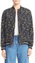 Belstaff Hulton Floral Bomber Jacket