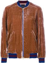 Roberto Collina two tone bomber jacket