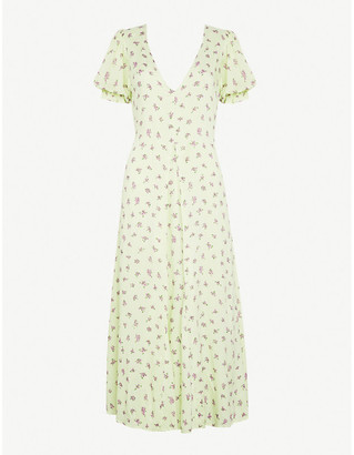 Faithfull The Brand Maggie floral-print crepe midi dress