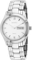 Roberto Bianci Mens Silver Tone Bracelet Watch-Rb12341