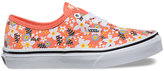 Vans Kids Floral Pop Authentic