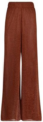 Oseree Lumiere high-rise wide-leg pants