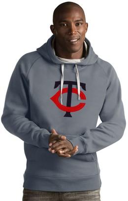 Antigua Men's Minnesota Twins Victory Logo Hoodie