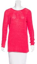 Rachel Zoe Open Knit Long Sleeve Sweater