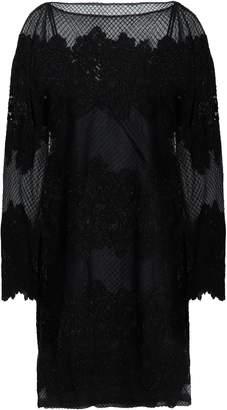 Valentino Embellished Embroidered Silk-blend Tulle Mini Dress