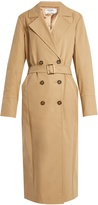 Frame Belted double-breasted trench coat