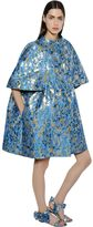 Gianluca Capannolo Lurex Brocade Balloon Coat