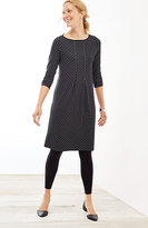 J. Jill Wearever Center-Pleat Dress