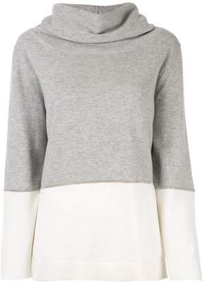 Fabiana Filippi cowl neck jumper