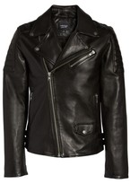 Men's Lamarque Leather Biker Jacket