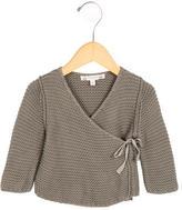 Bonpoint Girls' Knit Wrap Sweater