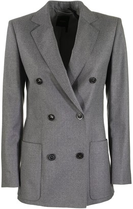Agnona Wool Flannel Double Breasted Jacket