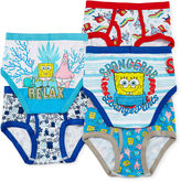 SpongeBob Squarepants LICENSED PROPERTIES 5-pk. Briefs - Boys 4-8