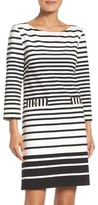 Eliza J Women's Stripe Shift Dress