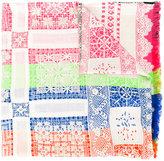Pierre Louis Mascia Pierre-Louis Mascia lace detail scarf