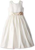 Us Angels Sleeveless Satin Dress (Little Kids)