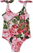 Dolce & Gabbana Floral Tank Swimsuit