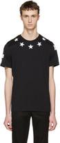 Givenchy Black 74 Stars T-shirt