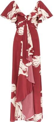 Johanna Ortiz Intesa Sutileza floral print dress