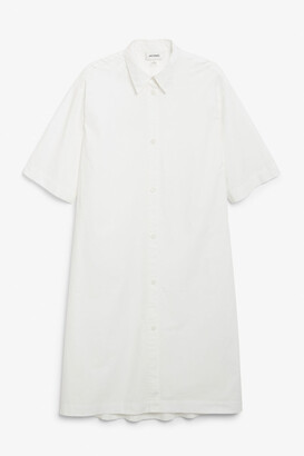 Monki A-line shirt dress