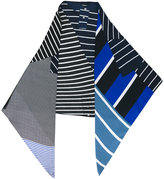 Pierre Louis Mascia Pierre-Louis Mascia - multi-stripe scarf - women - Silk - One Size