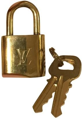 Louis Vuitton Brown Metal Bag charms