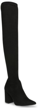 Steve Madden Women's Jacoby Thigh-High Over-The-Knee Boots