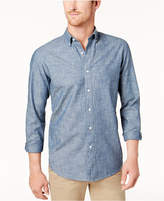 Club Room Men's Chambray Shirt, Created for Macy's
