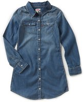 Levi's s Big Girls 7-16 Denim Western Dress