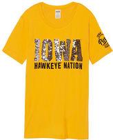 PINK University Of Iowa Campus Short Sleeve Tee