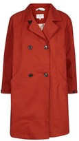 Nümph Double-Breasted Blazer Style Trench Coat