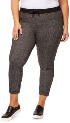 Dex Plus Heathered Cotton-Blend Jogger Pants