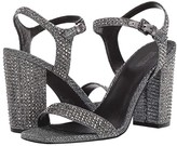 MICHAEL Michael Kors Francine Sandal (Black/Silver) Women's Shoes