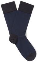 John Smedley - Hera Striped Sea Island Cotton-Blend Socks