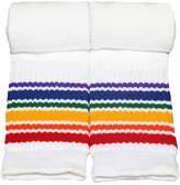 Pride Socks Rainbow Striped Socks Athletic Kids Tube Style 1