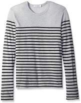 Alternative Men's Eco Jersey Yarn Dye Stripe El Capitan L/s Tee