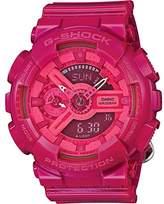 Casio Women's G-Shock GMAS110CC-4A Resin Quartz Watch